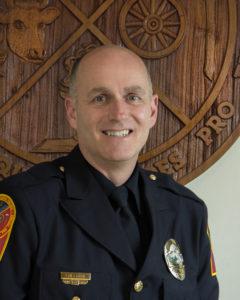 Tony Sullivan, Police Chief