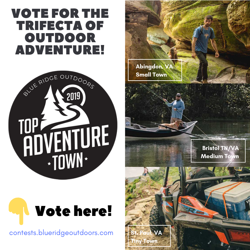 Top Adventure Town – Please Vote! – Town of Abingdon, Virginia